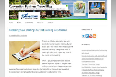 Convention Business Travel
